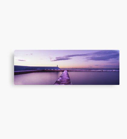 Newcastle Ocean Baths, NSW Canvas Print