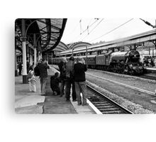 Train Spotting Canvas Print