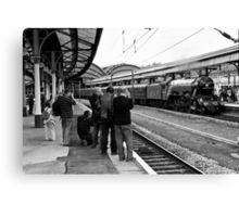 Train Spotting Canvas Print