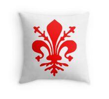 Florence Flag Throw Pillow