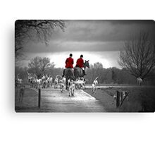 Red Riding Coats Canvas Print