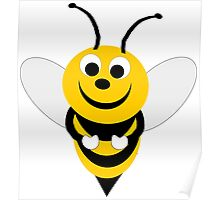 Bumble Bee Design Poster
