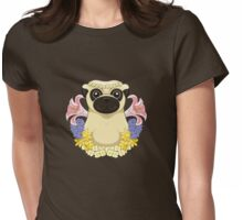 Spring Pug Womens Fitted T-Shirt