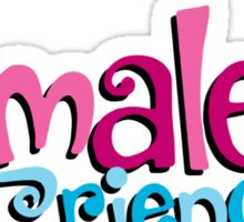 Female Friends - Plain Sticker