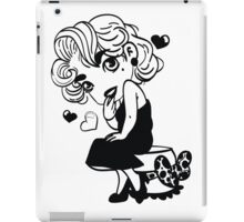 Classic Lady iPad Case/Skin