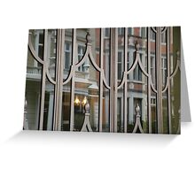 Claridges London, Ballroom Entrance Greeting Card