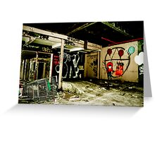 Graffiti Paradise Greeting Card