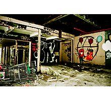 Graffiti Paradise Photographic Print