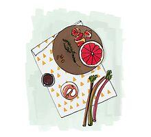 Grapefruit Mixer Photographic Print