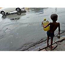 Monsoon. Kolkata Photographic Print