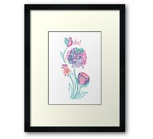 Enchanted Flowers Framed Print