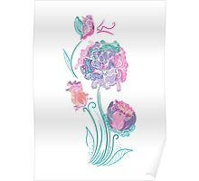 Enchanted Flowers Poster