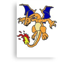 Charizard 2 Canvas Print