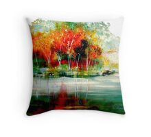 The Summer Knows... Throw Pillow