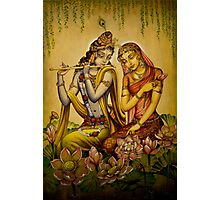 The nectar of Krishnas flute Photographic Print