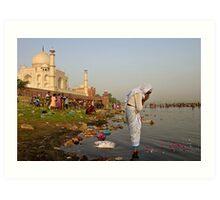 Taj Mahal. Agra Art Print