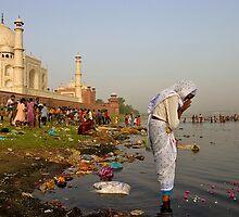 Taj Mahal. Agra by Claude  Renault