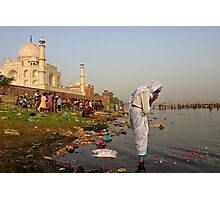 Taj Mahal. Agra Photographic Print
