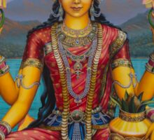Lakshmi devi Sticker