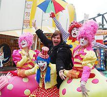 Having Fun at Luna Park  by Eve Parry