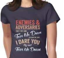 Tear Me Down Graphic Womens Fitted T-Shirt