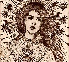 The High Priestess  by John Dicandia  ( JinnDoW )