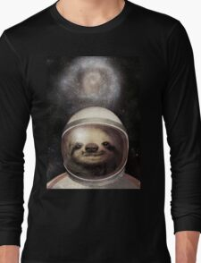 Space Sloth Long Sleeve T-Shirt