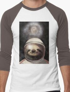 Space Sloth Men's Baseball ¾ T-Shirt