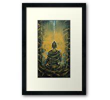 Buddha. Presence Framed Print