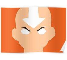 Aang Avatar State Poster