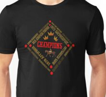 Horse Racing Triple Crown Winners Unisex T-Shirt