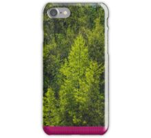 Trees and a container iPhone Case/Skin