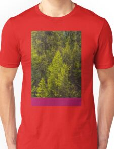 Trees and a container Unisex T-Shirt