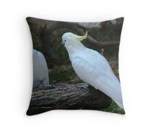 Just a Little Peck...? Throw Pillow