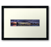 A Jewel Of a Morning  - Moods Of A City (Panoramic) - The HDR Experience Framed Print