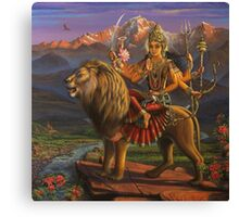Shree Durga Canvas Print