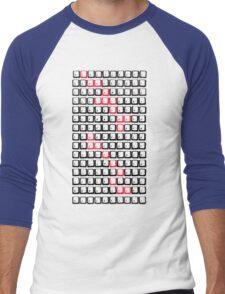 traditional aesthetics  Men's Baseball ¾ T-Shirt