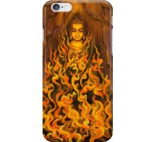 Buddha. Fire of meditation iPhone Case/Skin
