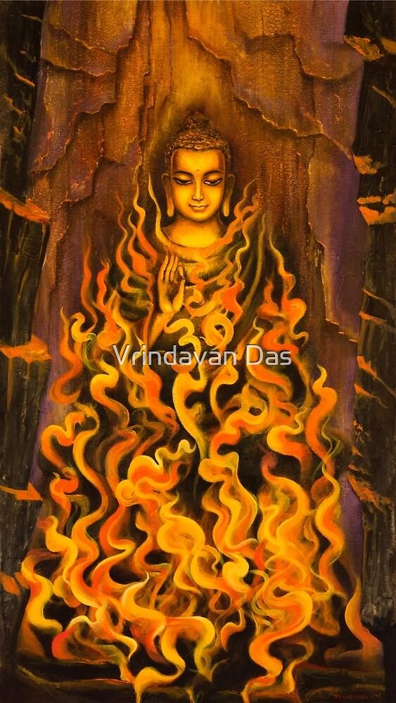 Buddha. Fire of meditation by Vrindavan Das