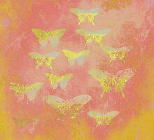 Vintage Butterflies W by Vitta