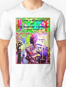 1968 Van Morrison @ Boston Commons  Unisex T-Shirt