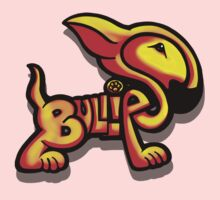 Bullies Letter Character Red and Yellow  Kids Clothes