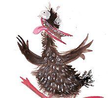 dancing duck 2 by Tristan Klein