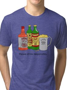 Please Drink Responsibly Tri-blend T-Shirt