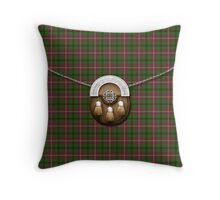 Tartan Of The Celts Tartan And Sporran Throw Pillow