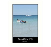 Busselton WA Art Print