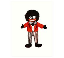 gollywog little Art Print