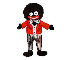 gollywog little Photographic Print