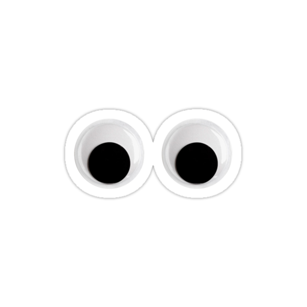 """""""Googly Eyes"""" Stickers by semiradical 