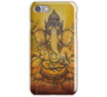Ganesha darshan iPhone Case/Skin